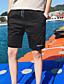 cheap Men's Pants & Shorts-Men's Mid Rise Micro-elastic Shorts Pants,Simple Straight Solid