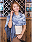 cheap Fashion Scarves-Women's Imitation Cashmere Rectangle Striped Winter Fall/Autumn