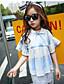 Mädchen T-Shirt einfarbig Baumwolle Nylon Sommer Kurzarm