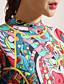 رخيصةأون بدلات غطس و بدلات المنقذ-HISEA® للمرأة بدلة غطس كاملة 3mm SCR Neoprene سترات للغوص كم طويل السحاب الخلفي كلاسيكي / موضة ربيع / صيف