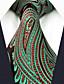 זול עניבות ועניבות פרפר לגברים-עניבת צווארון - קולור בלוק / פייסלי / סרוג עבודה / בסיסי בגדי ריקוד גברים