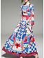 tanie Sukienki-Damskie Szczupła Pochwa Sukienka - Geometric Shape Maxi