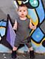 tanie Baby Boys' One-Piece-Dziecko Dla obu płci Jendolity kolor / Patchwork Bez rękawów Jednoczęściowe