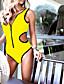 ieftine Bikini & Costume Baie 2017-Pentru femei De Bază Bikini Mată Cu Bretele Tanga Bustieră Fașă Elastică