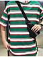ieftine Maieu & Tricouri Bărbați-Bărbați Tricou De Bază - Dungi