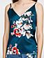 ieftine Bluze & Camisole Femei-Pentru femei În V Tank Tops De Bază - Floral Imprimeu / Vară / Sexy