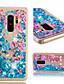 povoljno Maske za mobitele-Θήκη Za Samsung Galaxy S9 Plus Otporno na trešnju / Šljokice Stražnja maska Šljokice / Cvijet Mekano TPU