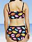 povoljno Bikinis-Žene Osnovni Duga Suknja Bikini Kupaći kostimi - Geometrijski oblici XL XXL XXXL