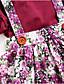 Χαμηλού Κόστους Βρεφικά φορέματα-Μωρό Κοριτσίστικα Βασικό Φλοράλ Αμάνικο Βαμβάκι Φόρεμα Ανθισμένο Ροζ