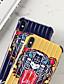 hesapli iPhone Kılıfları-Pouzdro Uyumluluk Apple iPhone XS / iPhone XR / iPhone XS Max Şoka Dayanıklı / Toz Geçirmez / IMD Arka Kapak Kelime / Cümle / Hayvan / Karton PC
