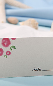 Place Card - Lovely Flower (Set of 12) Placecard Holders Wedding Reception
