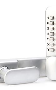 Rustfrit Stål kodeords Lås Smart Home Security System Hjem Kontor Kompositdør Wooden Door Sikkerhedsdør (Låsningstilstand Adgangskode)