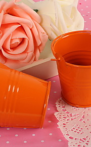 Creative Metal Favor Holder with Kit Pattern Favor Tins and Pails - 12