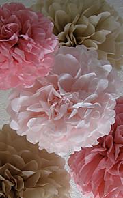 Bryllupsfest Blandet Materiale Bryllupsdekorasjoner Blomster Tema / Klassisk Tema Vinter Vår Sommer Høst Alle årstider