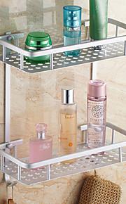 욕실 선반 콘템포라리 알루미늄 1개 - 호텔 목욕