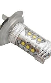 H7 Automatisch Lampen 10W Krachtige LED / Geïntegreerde LED 1600lm LED Mistlamp