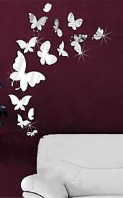 Tiere 3D Wand-Sticker Spiegel Wandsticker Dekorative Wand Sticker, Vinyl Haus Dekoration Wandtattoo Wand