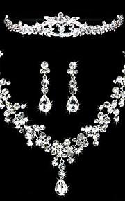 בגדי ריקוד נשים אחרים סט תכשיטים עגילים / שרשראות / נזרים - רגיל עבור חתונה / Party / אירוע מיוחד