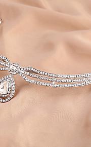 Štras Slitina Řetěz hlavy 1 Svatební Zvláštní příležitosti Přílba