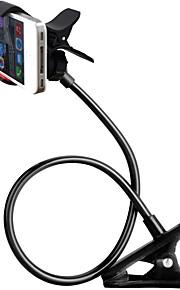 zxd360 graders roterende universelle fleksible lange arme mobiltelefonholder mount doven clip-on holder stativ