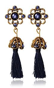 Dame Tassel Legering Andre Smykker Mørkeblå Bryllup Kostume smykker