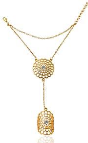 Damen - Prinzessin Klassisch Modisch Silber Golden Ring Für Hochzeit Party Party / Abend