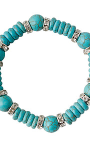 Damen Strang-Armbänder - Modisch Kreisform Grün Armbänder Für Hochzeit