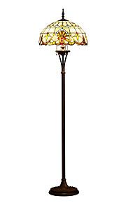 티파니 눈부심 방지 LED 바닥 램프 제품 110-120V 220-240V 레진