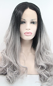 Synthetic Lace Front Wig Natural Wave Black Women's Lace Front Natural Wigs Synthetic Hair