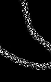 Di forma geometrica Forma Vintage Da serata Da ufficio Casual Acciaio al titanio Regali di Natale Bigiotteria