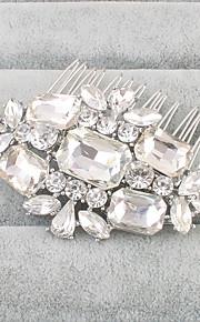 Kristal Strass Hiusten kaltaiset 1 Bruiloft Helm
