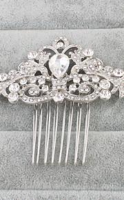 Strass Hiusten kaltaiset 1 Bruiloft Speciale gelegenheden  Helm