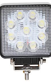 JIAWEN Automatisch Lampen 27W Krachtige LED LED Werklamp / Koplamp / Mistlamp