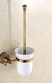 화장실 브러쉬 홀더 앤티크 놋쇠 1개 - 호텔 목욕