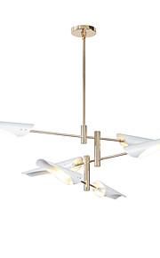 6 lumières Spoutnik Lustre Lumière d'ambiance - Style mini, Designers, 110-120V / 220-240V Ampoule incluse / 15-20㎡ / E26 / E27
