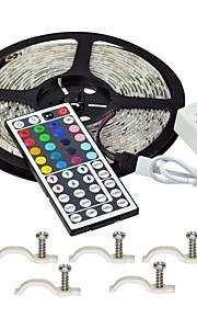 Lyssæt 300 lysdioder RGB Fjernbetjening Chippable Dæmpbar Vandtæt Farveskiftende Selvklæbende Passer til Køretøjer Koblingsbar Jævnstrøm