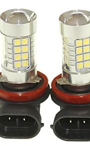 SENCART 2pcs PGJ19-1 Automatisch Lampen 36W SMD 3030 1500-1800lm LED-Lampen Mistlamp