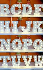 1 개 26 알파벳 알파벳 LED 밤 빛 베터리 전원 창의적 / 웨딩 / 장식