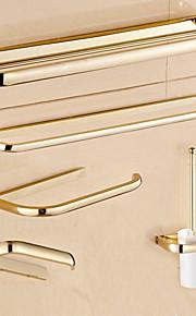 Bad Zubehör-Set Gute Qualität Antike Metal 5 Stück - Hotelbad Toilettenbürstehalter Turm Bar Toilettenpapierhalter Wandmontage