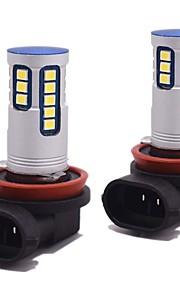 2pcs Lampen 24W SMD 3528 2400lm 24 Mistlamp For Universeel Alle Modellen Alle jaren
