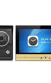 sistema di videocitofono con videocitofono da 9 pollici a grande schermo con telecamera esterna CMOS