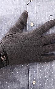 Hombre Para dedos Guantes - Trabajo Un Color