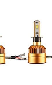 2pcs Elpærer 36W W Høj præstations-LED lm 2 Hovedlygte ForUniversel Alle Modeller Alle år