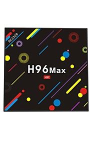 H96 Max Android 7.1 TV Box RK3328 Quad-Core 64bit Cortex-A53 4GB RAM 32GB ROM Quadcore