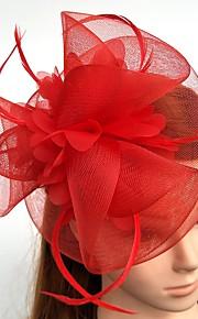 Peří   Síť Fascinátory   Květiny   Klobouky s Peří   kožešiny 1ks Svatební    Zvláštní 8e80c0038f