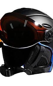 MOON Kayak Kaskı Unisex Lyže Sportovní Nastavitelný One Piece EPS PC CE / 12 / Ultra lehký (UL) / Přilba s brýle
