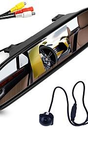 ziqiao 4,3 tommer digital tft lcd spejl skærm og bil bagfra kamera farve nat vision