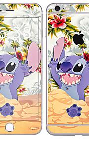 1 pezzo Autoadesivo della Pelle per Anti-graffi Cartoni animati A fantasia PVC iPhone 6s Plus/6 Plus