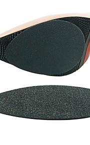 1 Pair Wearable Insole & Inserts Rubber Sole Men's Women's Black