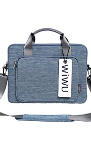 "Nylon Tinta unita Borsa a tracolla 15 ""Laptop 13 ""Laptop"